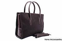 Элегантная женская сумочка Bonilarti Oalengi цвет коричневый