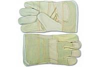 Перчатки рабочие Technics 16-176, кожа (16-176)