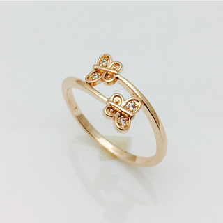 Кольцо бабочки, размер 18, 19, 20