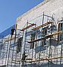 Обшивка существующего фасада Профнастилом