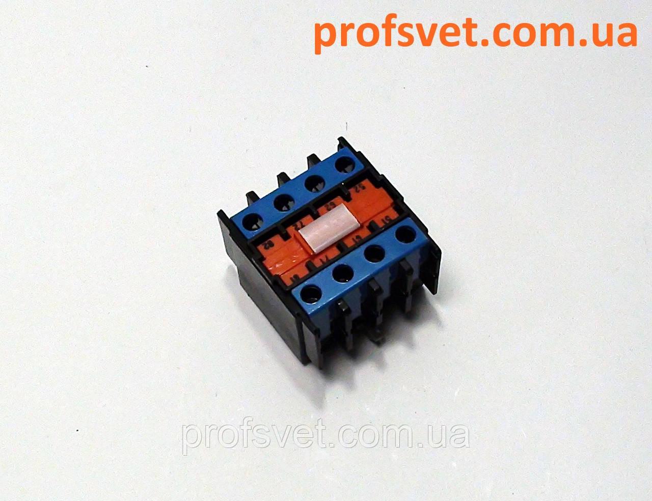 Приставка ПКЛ-40М 04А контакты 4 открытых
