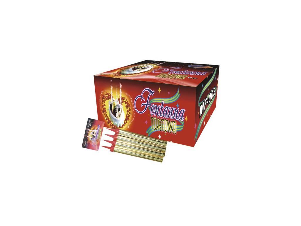 Тортовые свечи 17,5см MF002