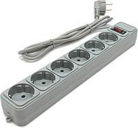 Сетевой фильтр SPG5-G-10 (0,75 мм2, 3 м 5 розеток)