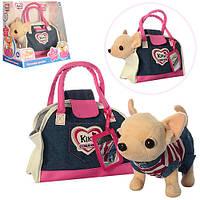 Собачка в сумочке Кикки  Джинсовый Стиль аналог Chi Chi Love