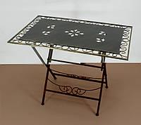 Стол кованый складной большой 005/ССС/196