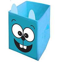 """Ящик для игрушек """"Заяц"""" HTKB-3535-004 Украинская Оселя 35*35*55"""