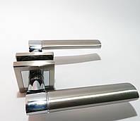 Ручка межкомнатная SOFIA  SN/CP(матовый никель)