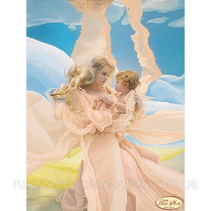 Схема для вышивания бисером Tela Artis Мать и дитя ТА-134
