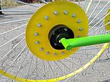 Грабли ворошилки на 4 кольца, фото 4