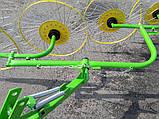 Грабли ворошилки на 4 кольца, фото 5