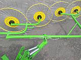 Грабли ворошилки на 4 кольца, фото 10