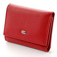 Женский маленький кожаный кошелек портмоне ST складной