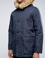 Парка\куртка D-Struct - Finnoy navy (мужская/чоловіча) Зима