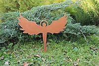 """Садовый декор """"Силуэт ангела"""""""