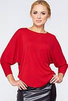 Красная стильная кофта Ниса