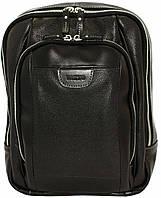 Рюкзак  кожаный унисекс VATTO  Mk-47FL8Kаz1 Черный