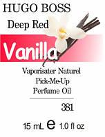 Парфюмерное масло на разлив парфюмерный композит версия Deep Red Hugo Boss