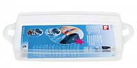 Дополнительный элемент для Клик-бокса,1 литр пластик прозрачный  24х16,5х3,5 см,Prym