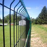 Забор секционный из сварной сетки в ПВХ Заграда™, фото 9