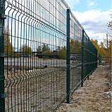 Секційний паркан з зварної сітки ПВХ Прикриє™, фото 10