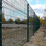 Забор секционный из сварной сетки в ПВХ Заграда™, фото 10
