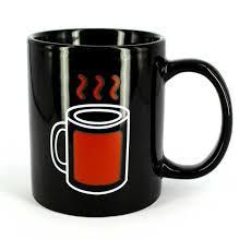 Чашка хамелеон Горячий чай