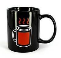 Чашка хамелеон Горячий чай, фото 1