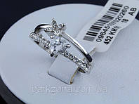Женское кольцо Сердце. Бижутерия