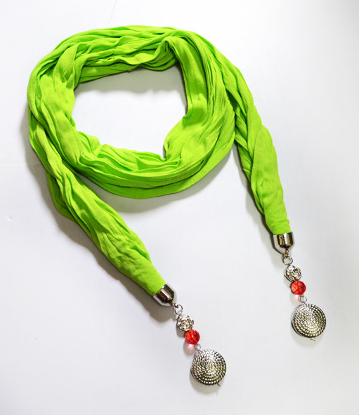 Яркий шарф, dress 1276_салат