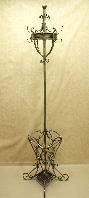 Вешалка кованая напольная с корзиной под зонт 005/VECH6/1513
