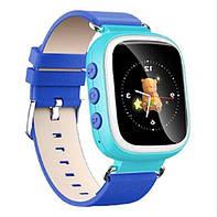 Оригинальные детские  часы Smart watch Q80 (Голубой)