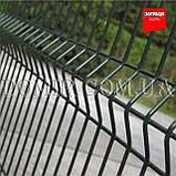 Секційний паркан з зварної сітки ПВХ Прикриє™, фото 2