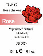 Rose the one  D&G  - 15 ml