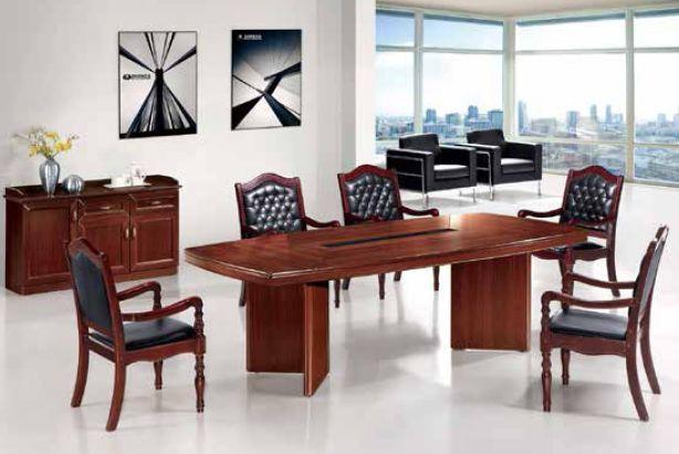 Конференц ― стол 2400 (83002, цвет F-61) в интерьере.