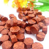 Сургуч порционный, таблетка, для печати декоративный, красное вино светлое