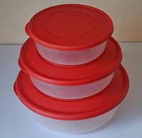 Набор контейнеров для хранения пищевых продуктов 3*1