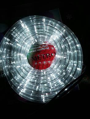 Гирлянда уличная лента светодиодная белая (LED) 10 м, фото 2