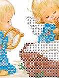 Авторская канва для вышивки бисером «С Рождением Мальчика!», фото 2