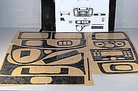 """Декоративные накладки салона  """"титан""""  на Renault Trafic  + Opel Vivaro 2001->  —  Турция"""
