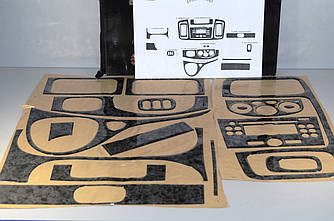 "Декоративні накладки салону ""титан"" на Renault Trafic + Opel Vivaro 2001-> — Туреччина"