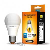 LED лампа VIDEX A60e 8W E27 4100K 220V (VL-A60e-08274)
