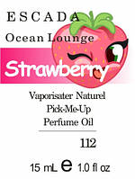 Парфюмерное масло версия аромата Ocean Lounge  Escada нота Strawberry - 15 мл