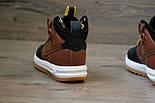 Кроссовки Nike Lunar Force 1 Duckboot brown без меха (Реплика ААА+), фото 3