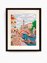 Авторская канва для вышивки бисером «Венеция»
