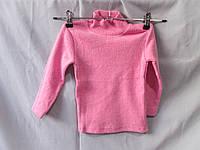 Гольф детский оптом недорого для девочек  86-104 см, теплый коттон, разный цвет