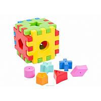 Игрушка развивающая Волшебный куб 12 элементов