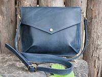 Компактна жіноча сумочка Flapbag mini blue