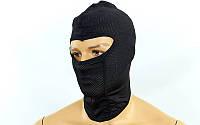 Подшлемник балаклава (PL, эластан, черный)