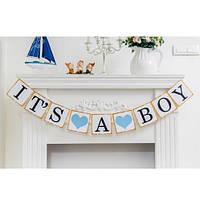 Гирлянда «It's a boy»