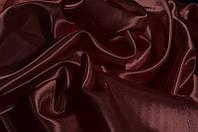 Ткань Креп-сатин Бордовый